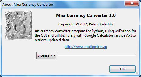 Mna - Currency Converter - Petros Kyladitis